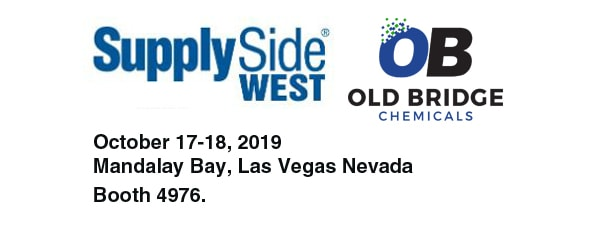 Old Bridge Chemicals to Exhibit at SupplySide West 2019